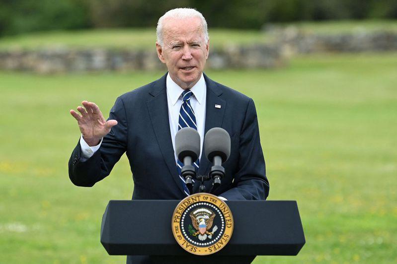 根據今天公布的一項調查,民主黨籍的拜登(Joe Biden)當選美國總統後,連帶提升美國的國際形象。 法新社
