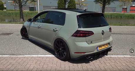 影/外型這麼素的Volkswagen Golf R竟有800匹馬力!