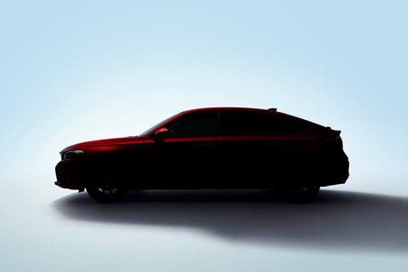 先來3張預告圖!2022 Honda Civic Hatchback月底發表