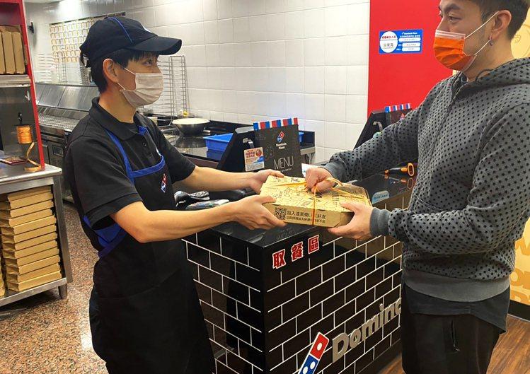 台灣區達美樂為全台第二大披薩連鎖店。圖/達美樂提供