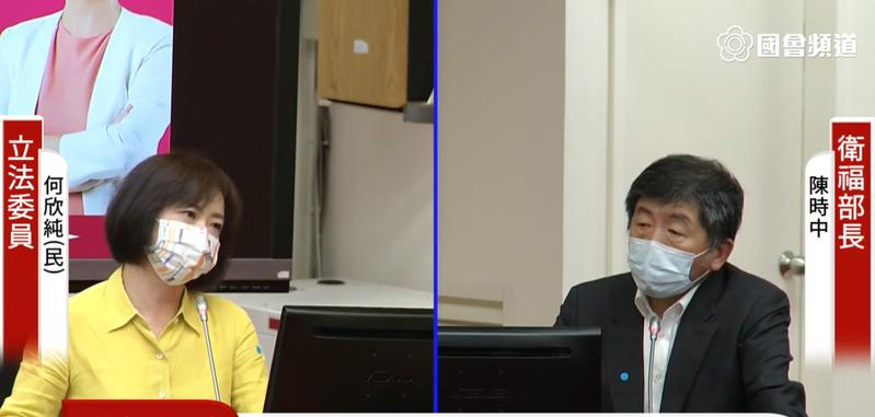 民進黨立委何欣純。圖/取自國會頻道