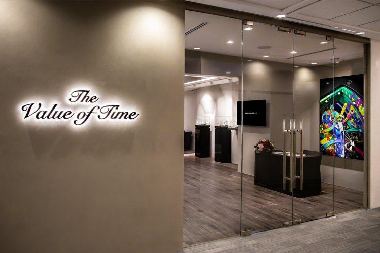 The Value of Time是全球唯一專門零售RICHARD MILLE二...