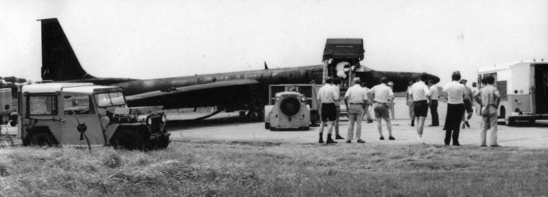 黑貓中隊駕駛U2偵察機出任務,往往犧牲慘重 。圖/黃鍾輝提供