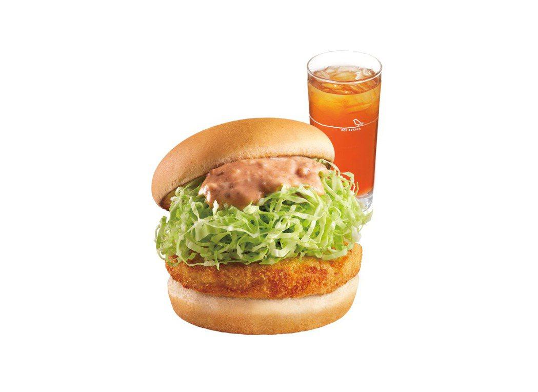 咕咕雞堡套餐優惠,為全民打氣。圖/摩斯提供