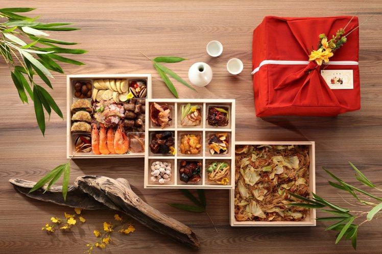 「山海珍寶盒台味下酒菜」原價6,980元、優惠價4,980元。圖/山海樓提供
