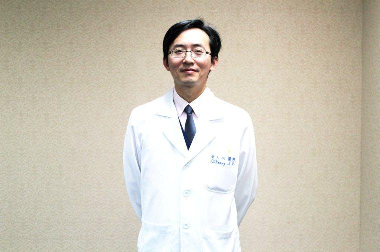 三軍總醫院胃腸肝膽科副主任黃天祐 圖/黃天祐提供