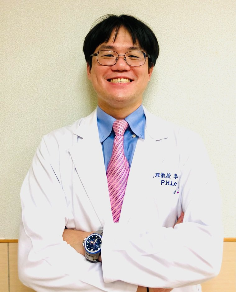 長庚醫院胃腸肝膽科助理教授及主治醫師李柏賢 圖/李柏賢提供