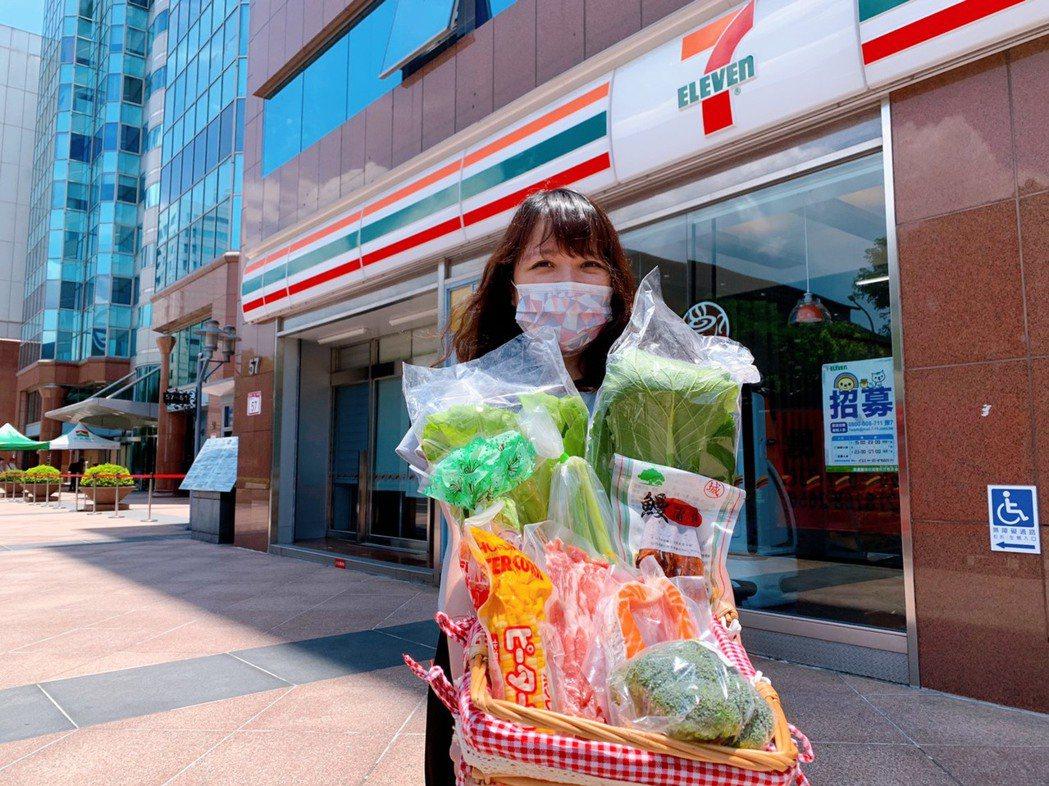 7-ELEVEN「i預購」推出超過20款備糧食材箱。(照片提供:7-ELEVEN...