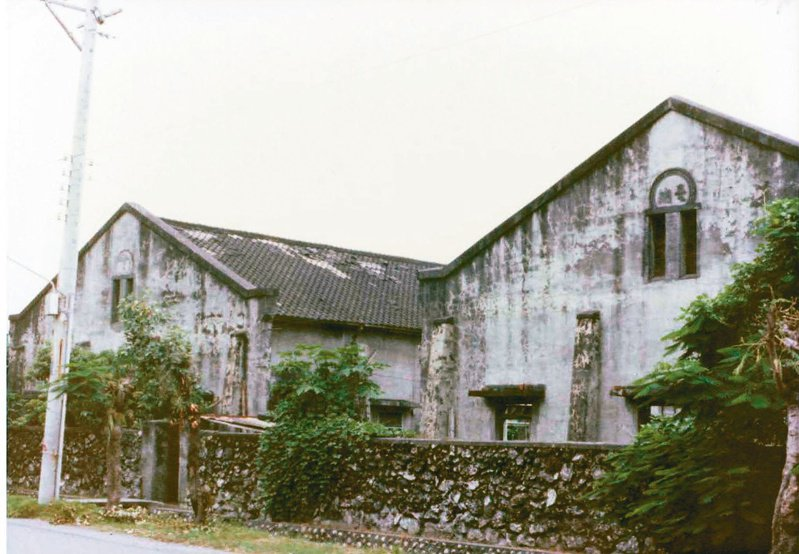 溪州糖廠廠房。(圖/吳晟提供)