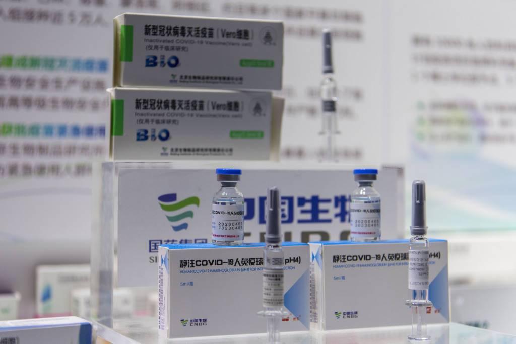 大陸國藥中生北京所和北京科興中維公司的新冠疫苗在有需要的情況下,可接種3到17歲...