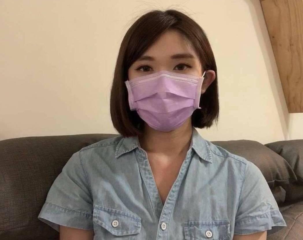 壹電視主播趙惠雯在家自主管理。圖/摘自臉書