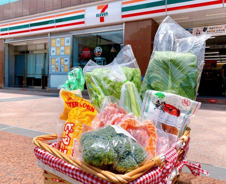 7-ELEVEN「i預購」平台推出超過20款備糧食材箱,成為防疫期間民眾物資需求...