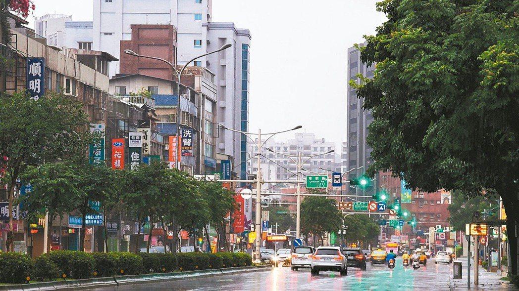 景美捷運站商圈交通便捷、生活機能完善,圖為羅斯福路六段街景。記者鄭超文/攝影