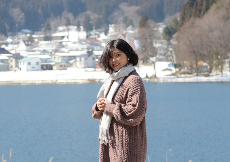 去年正在日本飯店打工的王思閔,因疫情返台,讓她決定嘗試國營事業聯招,僅花七個月上榜。圖/王思閔提供