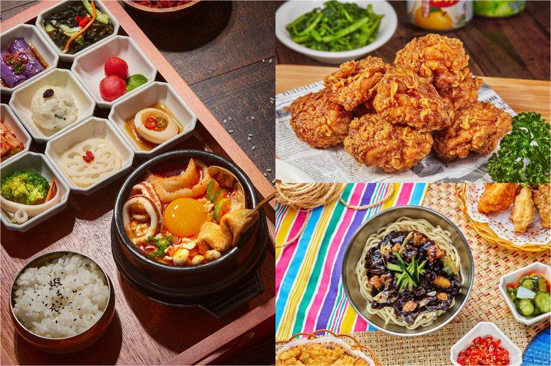 6家韓式料理開放線上點餐、致電預訂及到店外帶自取優惠,訂購詳情請洽官方社群。圖/兩班家韓式餐飲提供