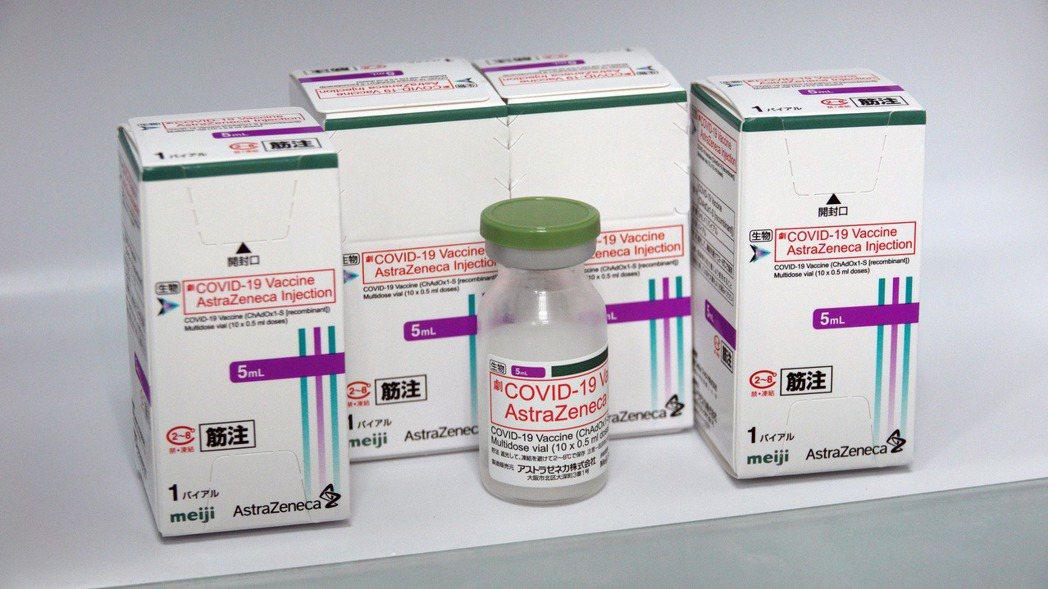 日本贈送的AZ疫苗。記者劉學聖/攝影