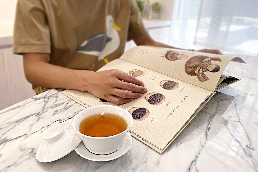茶博館邀大家一起體驗充滿書香與茶香的防疫時光。 茶博館/提供