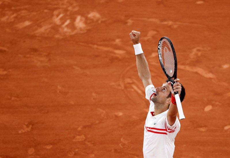 喬科維奇(Novak Djokovic)擊敗納達爾,取得法網男單決賽資格。 路透社