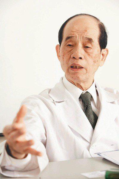 台大醫院小兒科名譽教授李慶雲昨凌晨辭世。本報資料照片