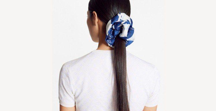 LV Parasol彈性髮圈,8,850 元。圖/取自LV官網