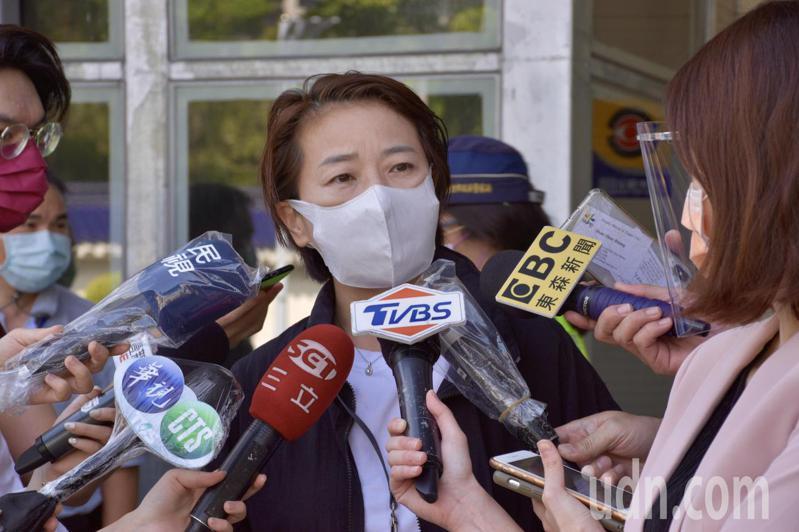 台北市副市長黃珊珊表示「大家都忘記3+11的事了」。記者鍾維軒/攝影