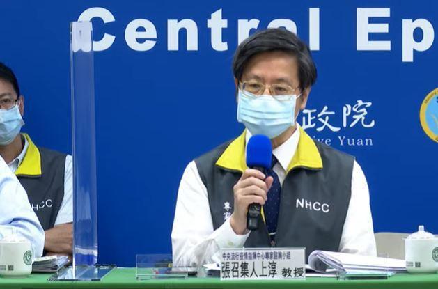 張上淳說,剛打完幾天沒足夠抵抗力,當然會發生感染,還是有機會傳給別人,如果打時間...