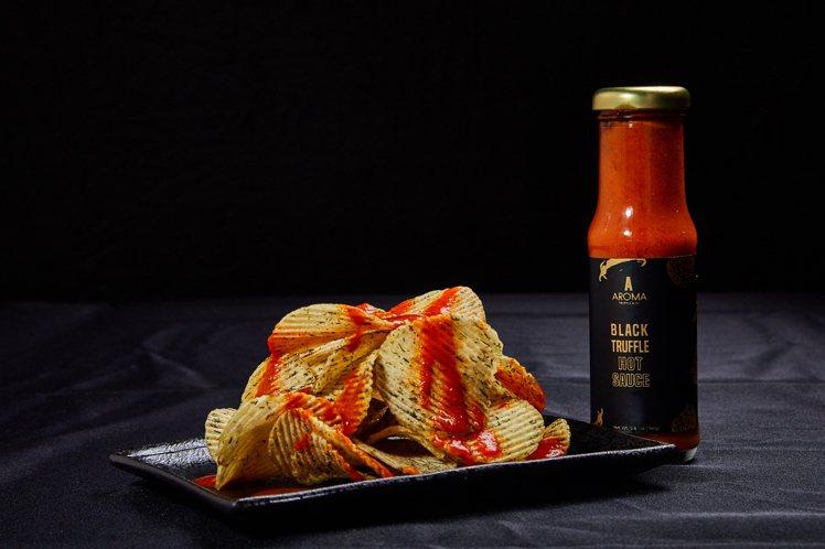 Aroma Truffle黑松露辣椒醬是廚房的秘密武器。圖/Aroma Truf...