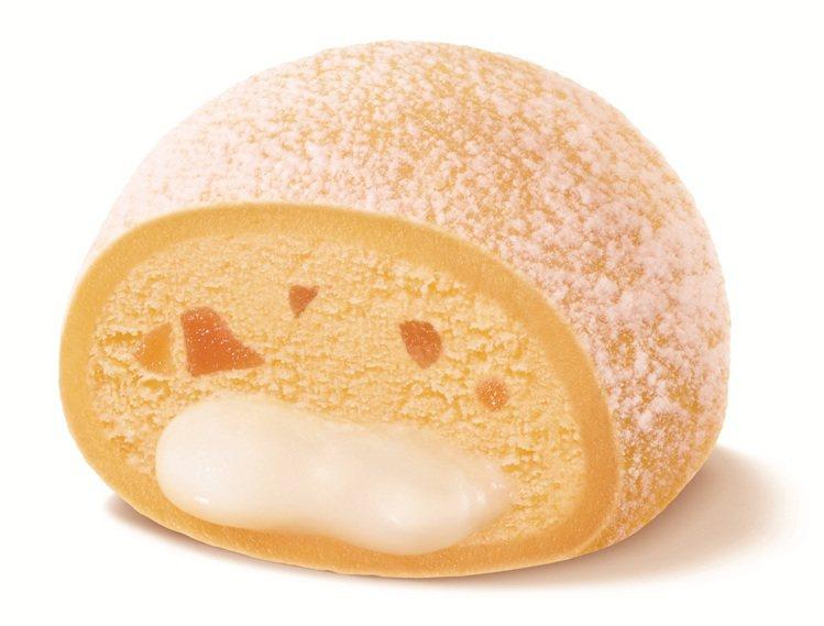 芒果煉乳流心冰淇淋大福,單點售價49元。圖/肯德基提供