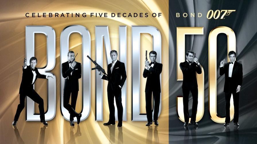6代007各有不同的風格與魅力,任期長短也有差別。圖/摘自