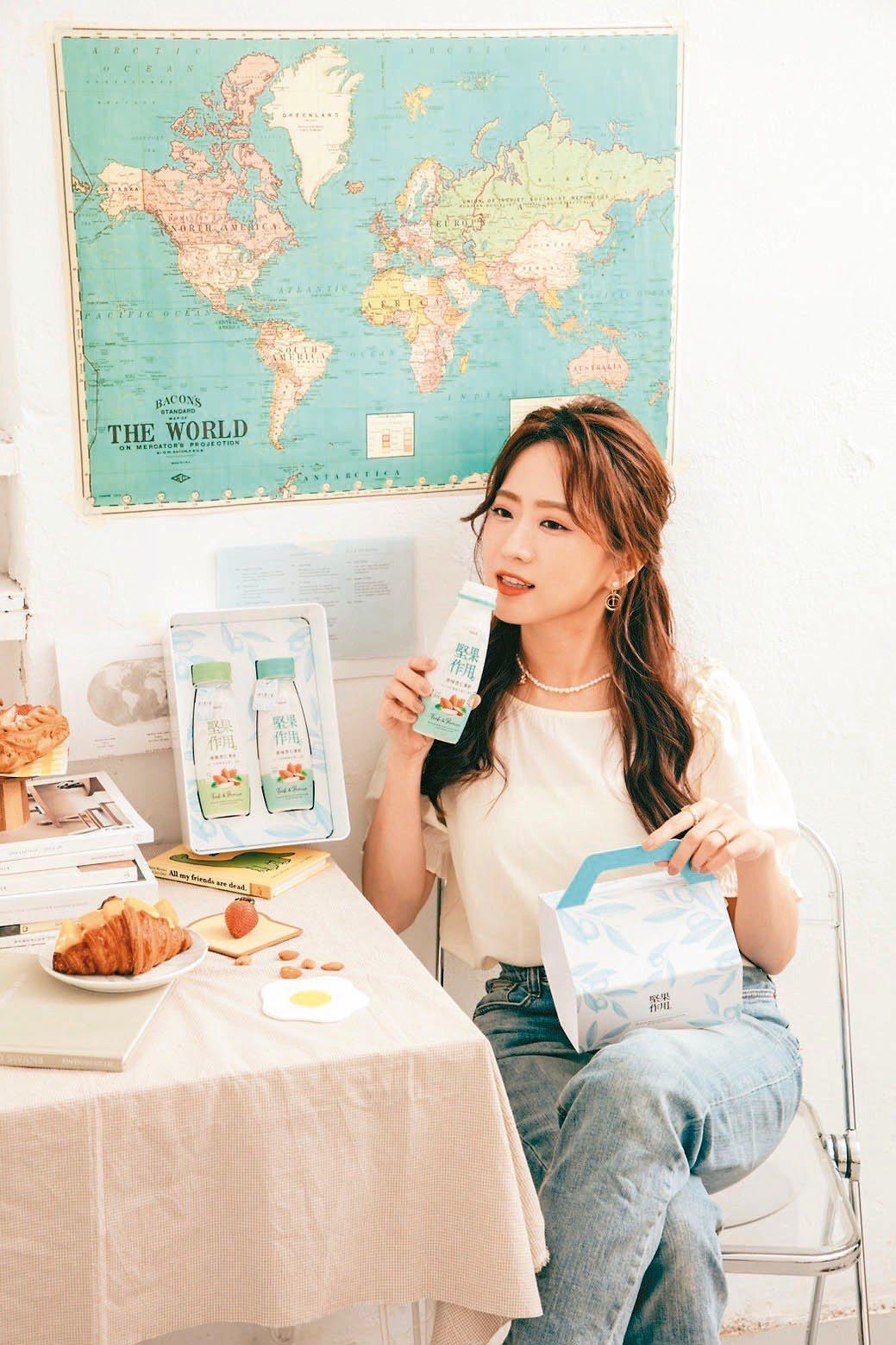 健康好喝、營養與質感兼具的《堅果作用》,為大眾提供早餐飲品新選擇。泰山企業/提供