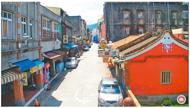疫情影響,大溪老街在端午連假首日上演「空城計」。圖/翻攝自桃園觀光導覽網