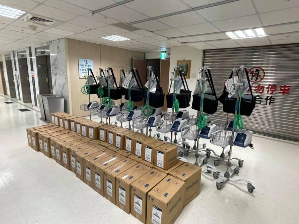 賈永婕募資購得252台HFNC,要捐給各大醫院。 圖/擷自賈永婕的跑跳人生臉書