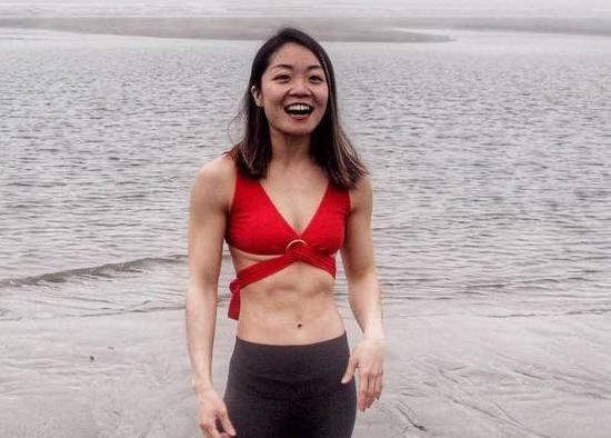 健身教練謝小芳分享「找自己」的過程。圖片由謝小芳授權「有肌勵」刊登