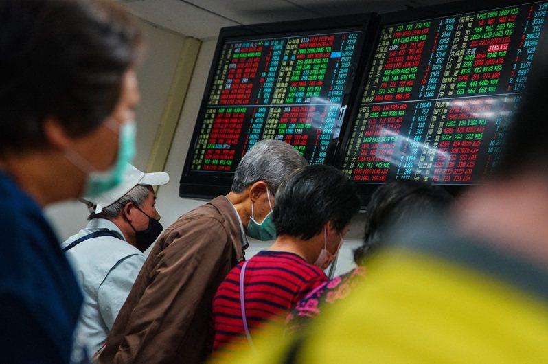 台股近期類股快速輪動,上週週線僅上漲66.11點。台股示意圖。中央社