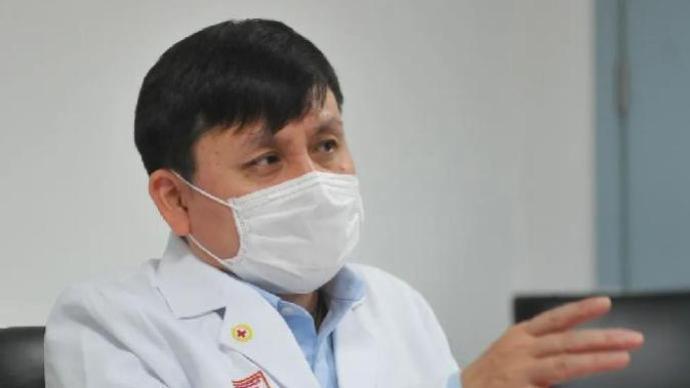 上海復旦大學附屬華山醫院感染科主任張文宏。澎湃新聞
