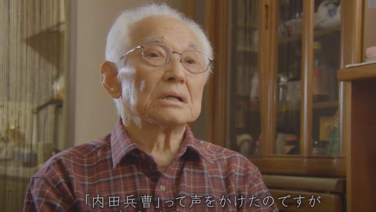 前少年兵西崎信夫,當年對勝利深信不移。圖/取自NHK紀錄片