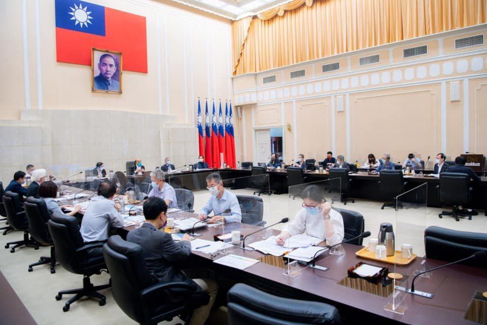 行政院長蘇貞昌今日召開擴大防疫會議。行政院提供