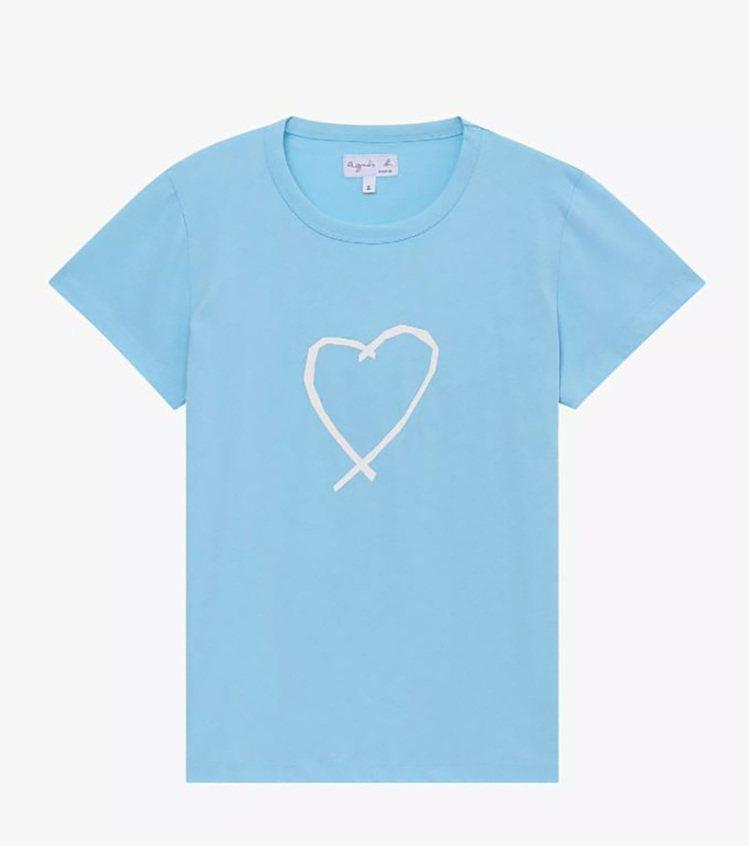 薩拉熱窩之心T恤,3,280元。圖/agnès b.提供