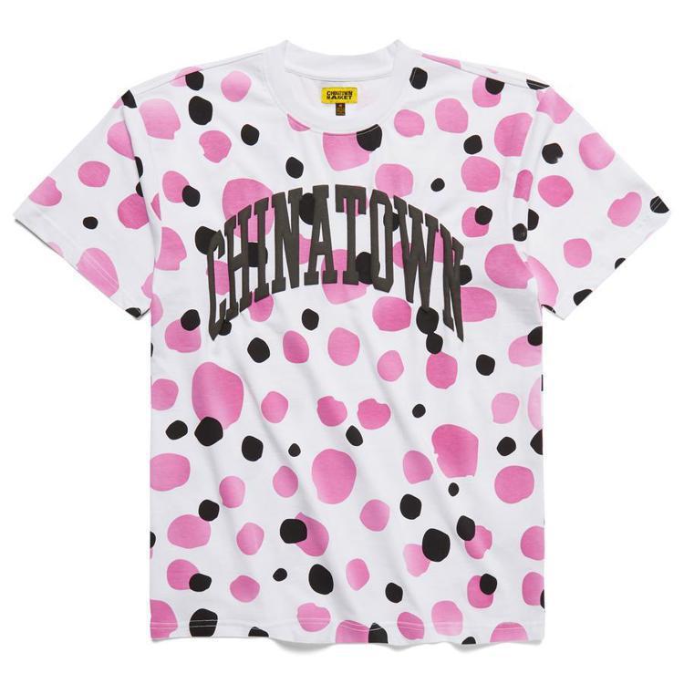 Chinatown UV Dots T-shirt,使用感光變色布料,隨光線照射...
