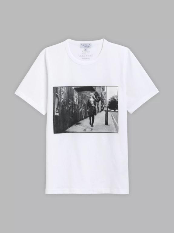 Yan Morvan藝術家T恤,4,580元。圖/agnès b.提供