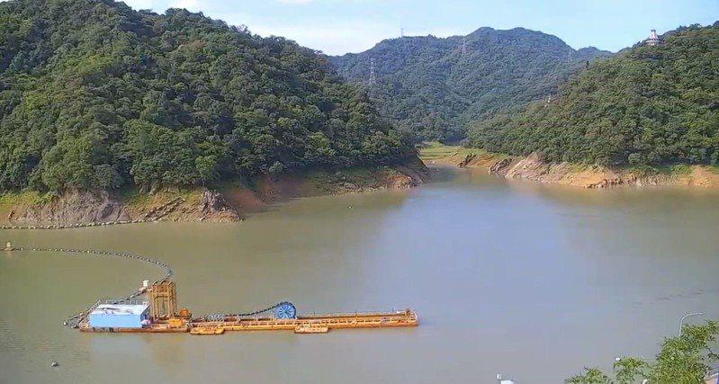 石門水庫水情緩解,北水局表示,未來若還有鋒面抵達台灣,能持續降雨穩定水情。圖/北水局提供
