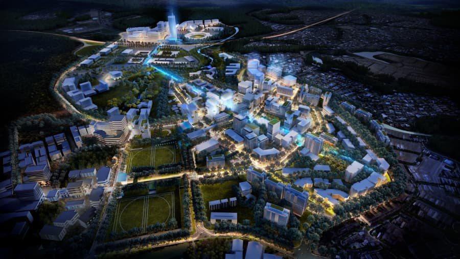 澳房地產大亨正推動大春田市造鎮計畫。(網路照片)