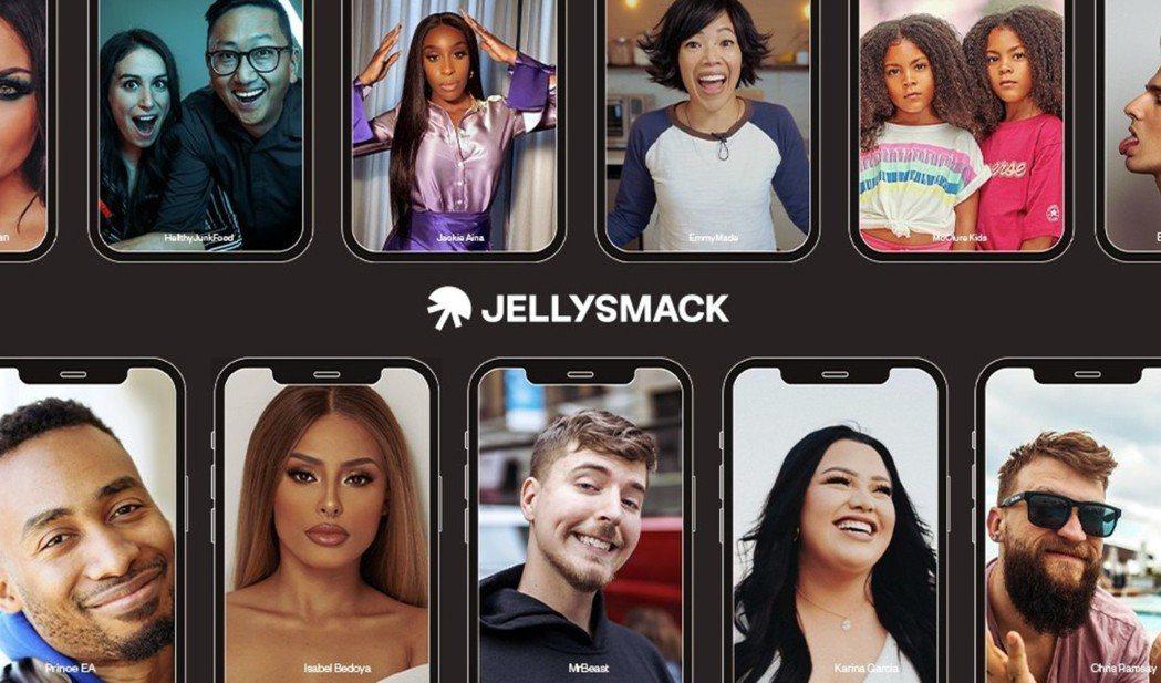 Jellysmack瀏覽數百個影片頻道,並利用機器學習發掘、招攬有前途的新星。(...