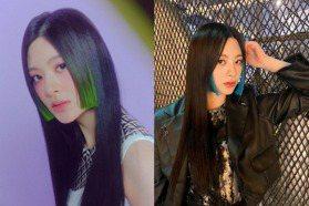 2021夏季髮色要這樣染!韓國女團最夯「髮帶染、公主切染」整個人仙度增一倍,大勢髮色暖陽橘、美人魚紅超顯白
