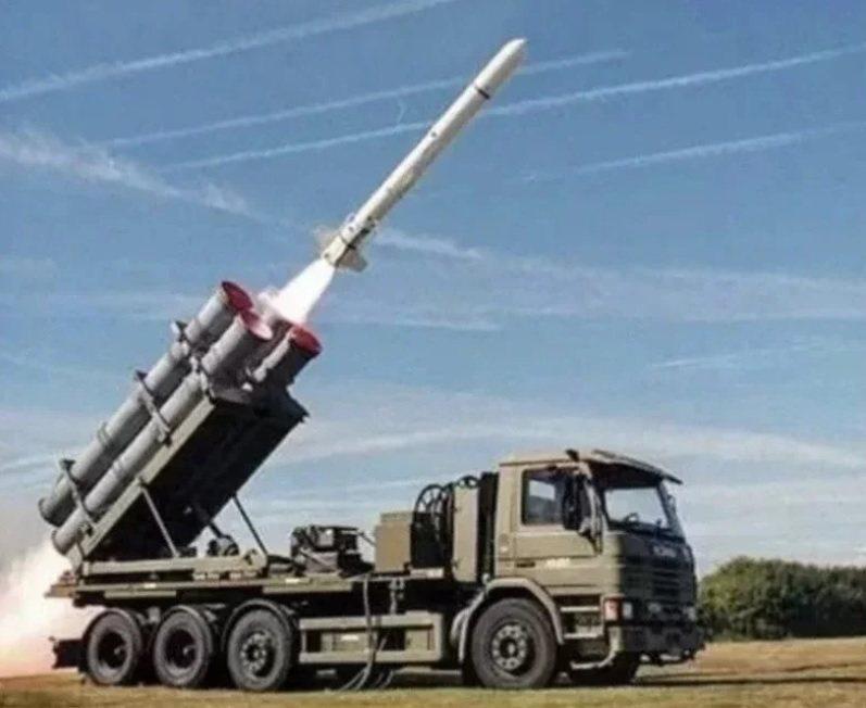 美售我「魚叉飛彈海岸防衛系統」。圖/取自波音推特