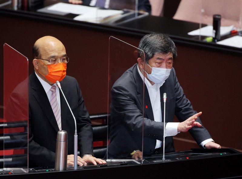 本土疫情大爆發,打破台灣過去一年的「防疫神話」,蔡政府未利用過去一年的時間超前部署,種下防疫連六錯。圖/台北市攝影記者聯誼會提供