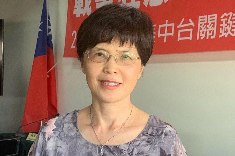 中山大學教授廖達琪。 圖/聯合報系資料照片