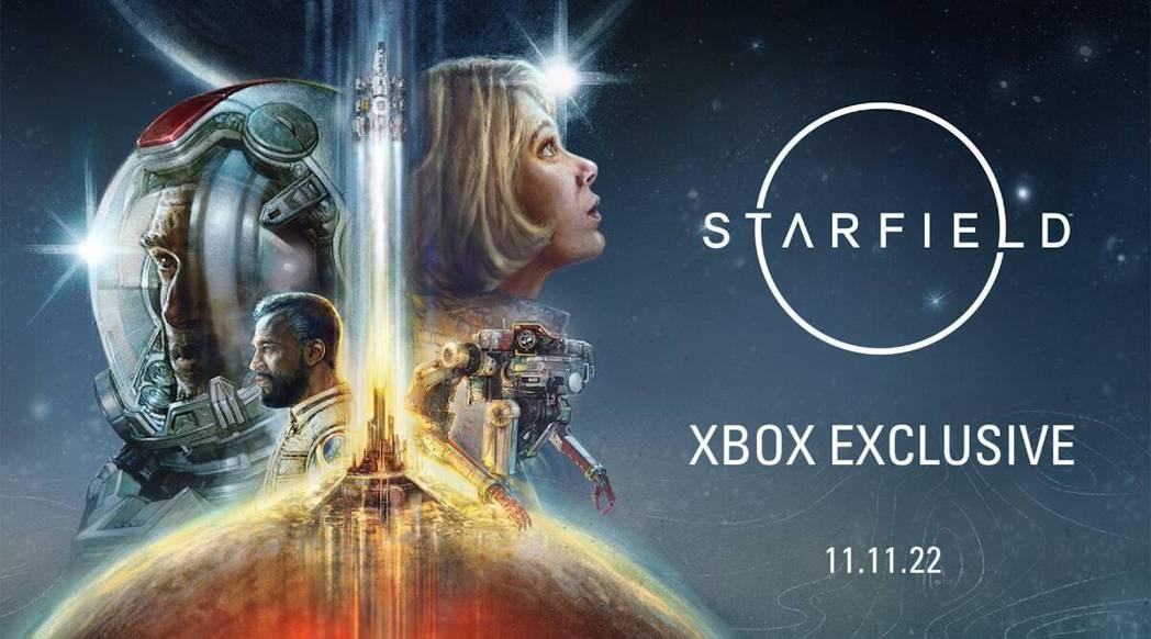 微軟旗下貝塞斯達的科幻巨作「星空」,是今年E3電玩展的亮點之一。 擷自微軟官網