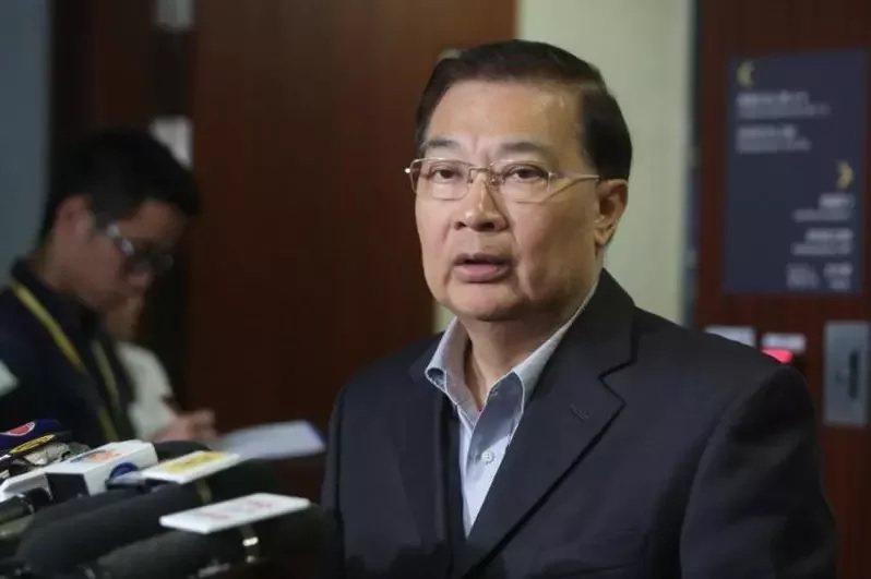 香港的大陸全國人大常委譚耀宗。圖/取自文匯網