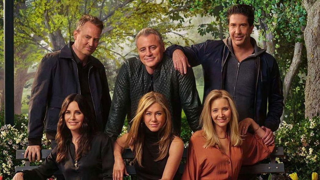「六人行:當我們又在一起」在美國和英國都創下驚人的收視效益。圖/摘自HBO